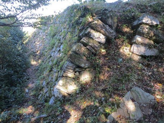 41本丸北面石垣