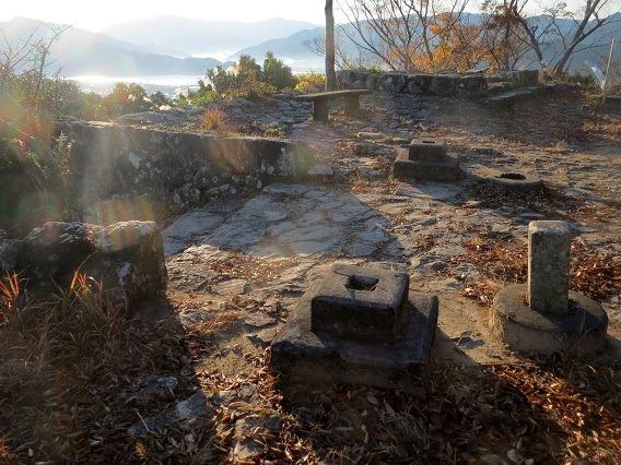 冠水門礎石