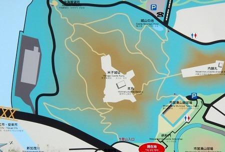 00米子城案内図