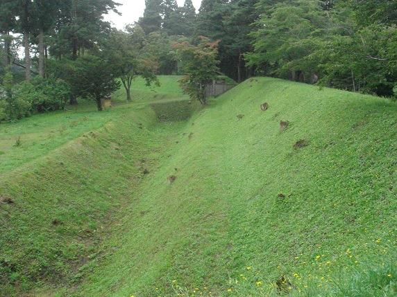 16表御門前の空堀
