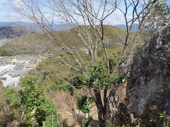 13物見岩脇から松尾城を