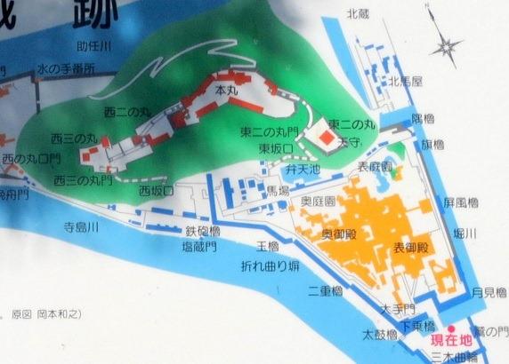 01徳島城縄張図