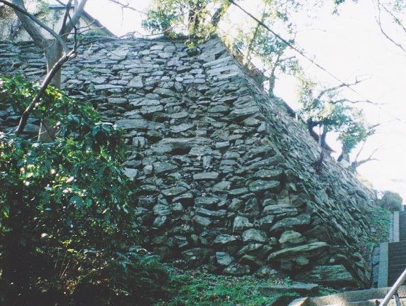 43徳島城本丸東石垣