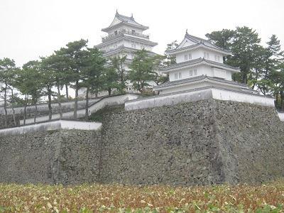 2南東から巽櫓と天守