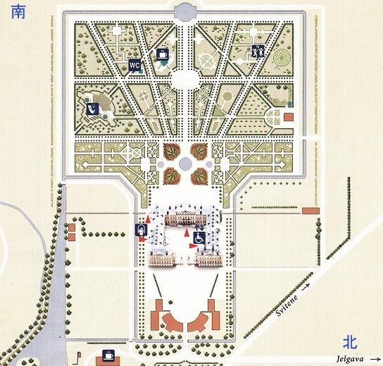 ルンダーレ宮殿図