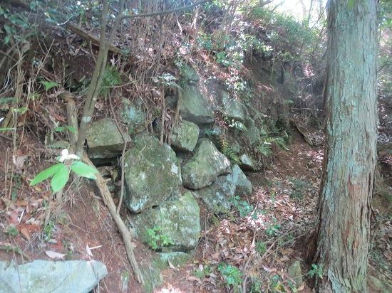 28本丸側面石垣