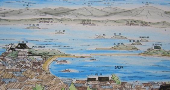 鞆の浦絵図