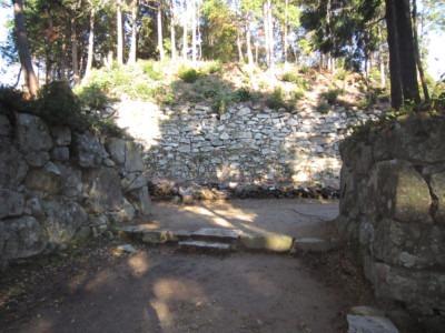 05二の丸石垣