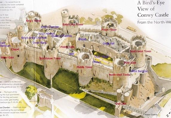 コンウィ城の画像 p1_7