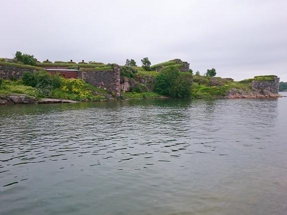 ビッグブラック島城壁