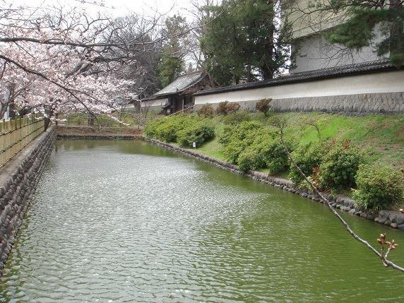 藩主居館の水堀