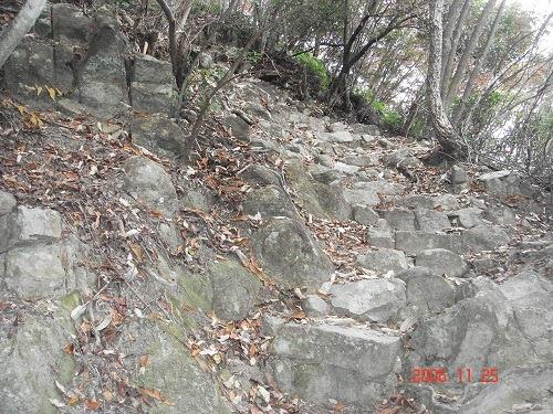31物見岩への道