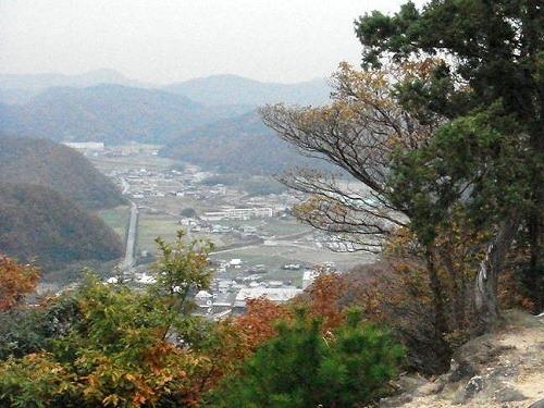33物見岩からの眺望