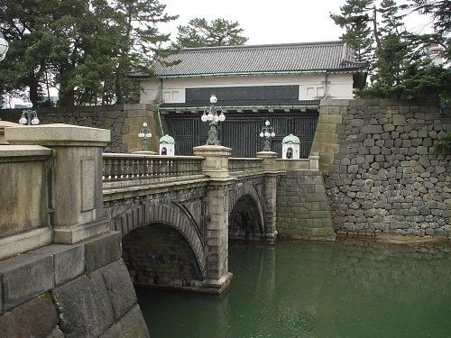 01二重橋と西の丸大手門