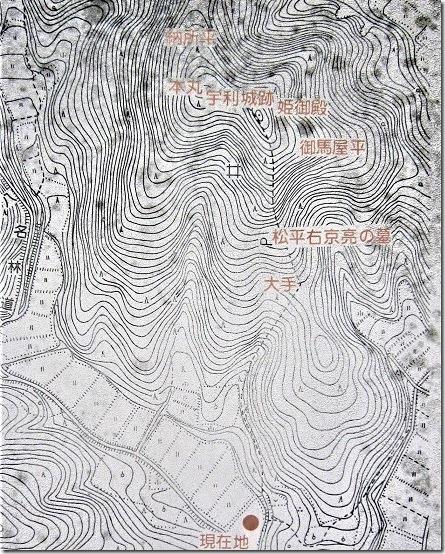 宇利城案内図