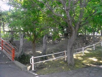 館山チャシ(伊達市)