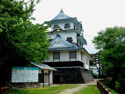羽後 稲庭城(湯沢市)