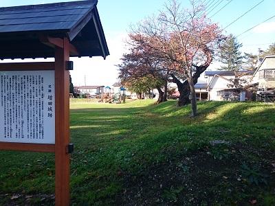 羽後 増田城(横手市)