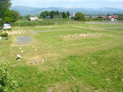 陸中 徳丹城(矢巾町)