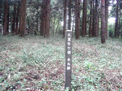 岩代 大里城(天栄村)
