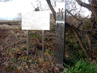 上野 新堀城(吉井町)