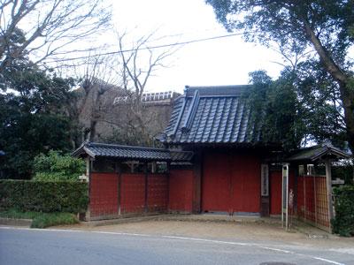 常陸 麻生陣屋(行方市)