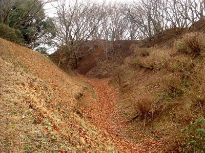 下総 師戸城(印旛村)