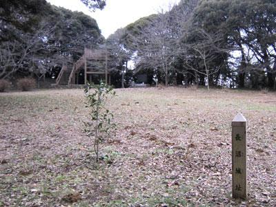 下総 長沼城(成田市)