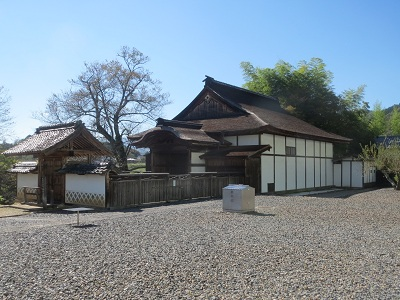 信濃 伊豆木陣屋(飯田市)