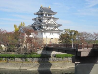 美濃 墨俣城(大垣市墨俣町)