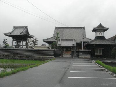 伊勢 願証寺(桑名市長島町)