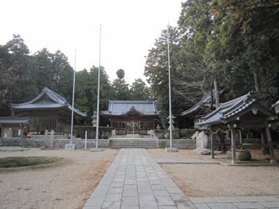 伊勢 金ケ原城(菰野町)