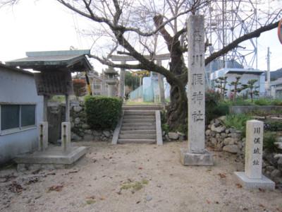 伊勢 川俣城(亀山市)