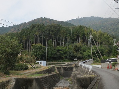 伊勢 柚井城(桑名市多度町)