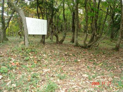 近江 別所山砦(余呉町)
