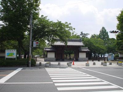 近江 膳所城(大津市)