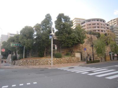 摂津 花隈城(神戸市)