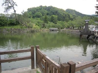 因幡 鹿野城(鳥取市)