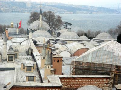 トプカプ宮殿(イスタンブール市)
