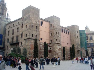 バルセロナの城壁