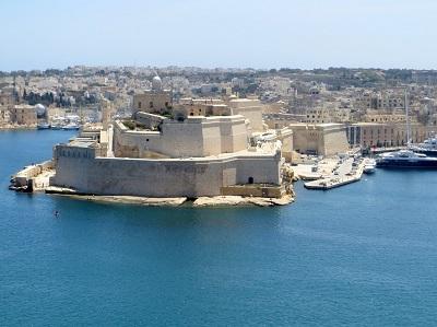 聖アンジェロ砦(マルタ、ヴィットリオーザ)