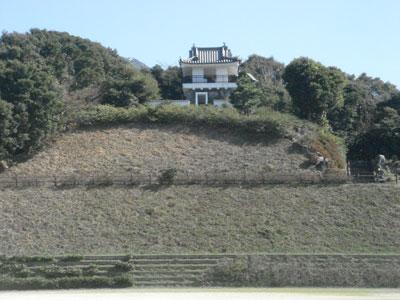 肥前 釜蓋城(雲仙市)