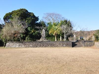 薩摩 加世田城(南さつま市)