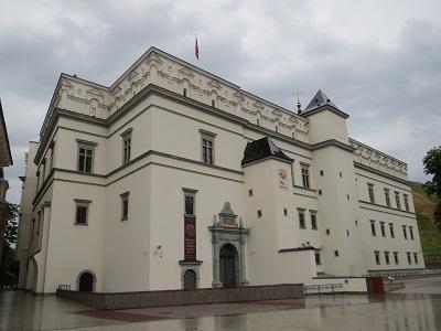 リトアニア大公宮殿(ヴィリニュス市)