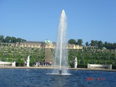 サンスーシー宮殿(ポツダム)